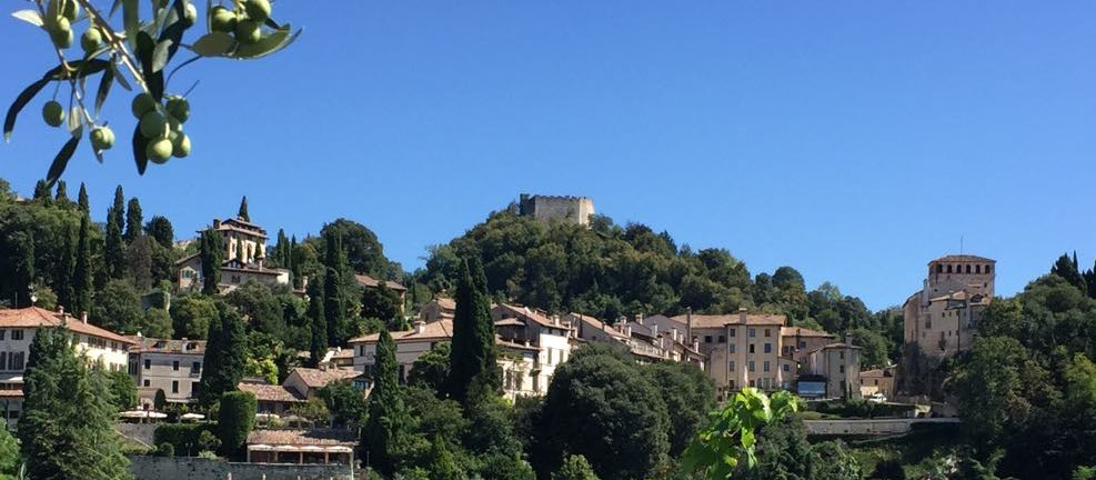 A picture of Asolo 'The City of a Hundred Horizons'